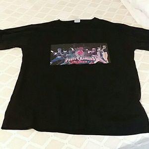 Power rangers spd black t shirt